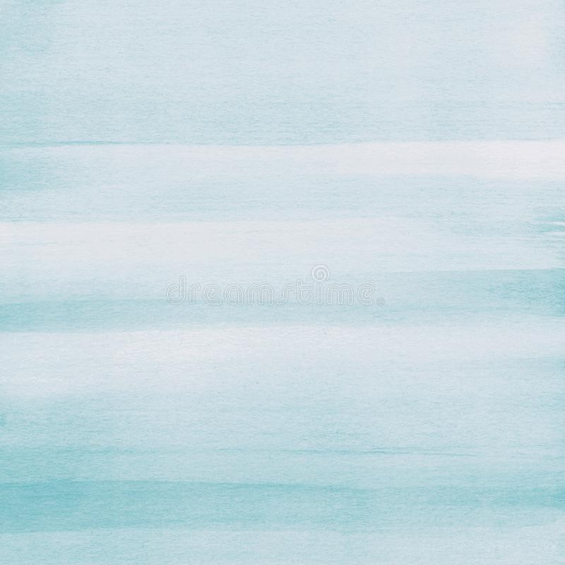 Fondo azul claro de la textura de la acuarela, pintado a mano libre illustration