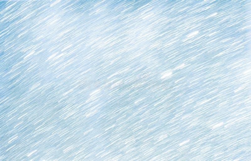 Fondo azul claro y blanco abstracto del movimiento foto de archivo libre de regalías