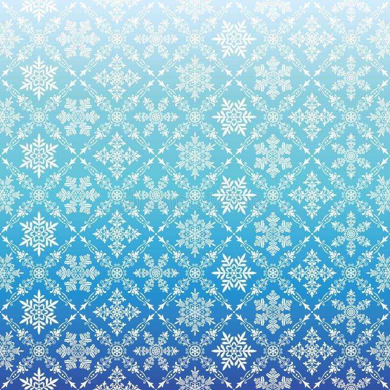 Download Fondo Azul Con El Cristal De La Nieve Ilustración del Vector - Ilustración de clásico, adorno: 64209997