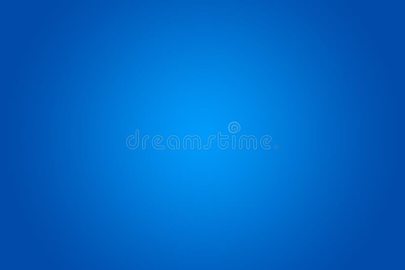 Fondo azul de la pendiente libre illustration