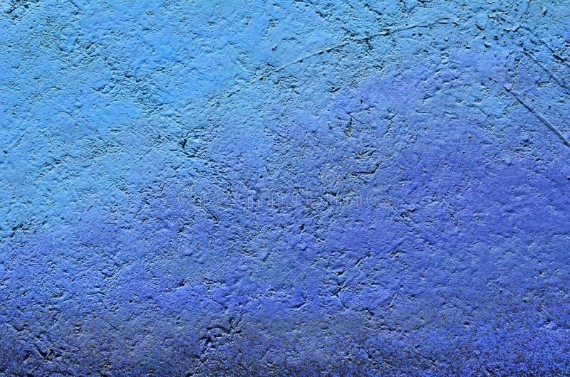 Fondo azul de la pintura de la pendiente fotografía de archivo libre de regalías