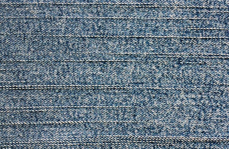Fondo azul de la tela del dril de algodón imágenes de archivo libres de regalías