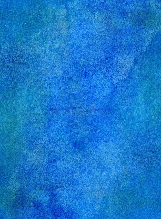 Fondo azul de la textura de la pintura imagen de archivo