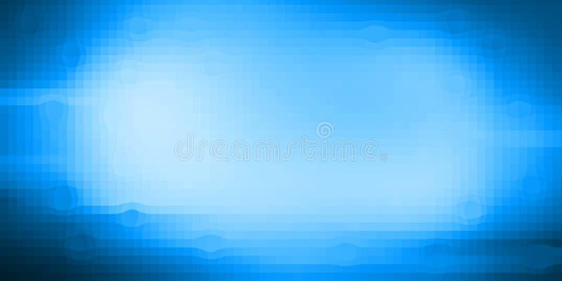 Fondo azul de la textura del pixel del color de Florencia libre illustration