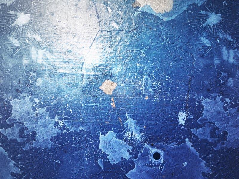 Fondo azul de la textura de Grunge fotografía de archivo libre de regalías