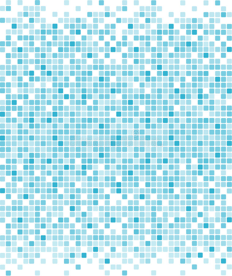 Fondo azul de los pixeles libre illustration