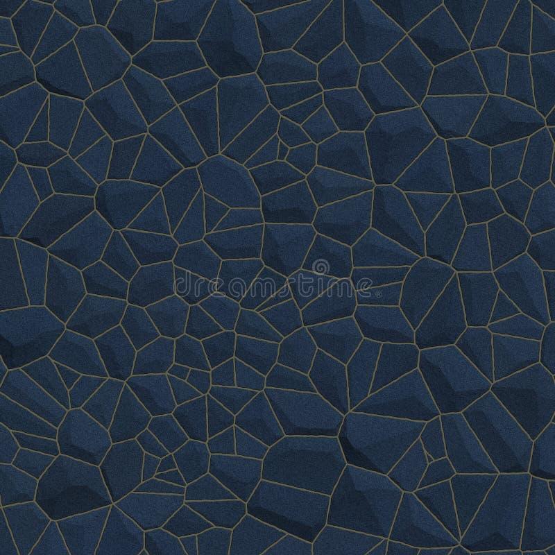Fondo azul de pared de piedra imagen de archivo