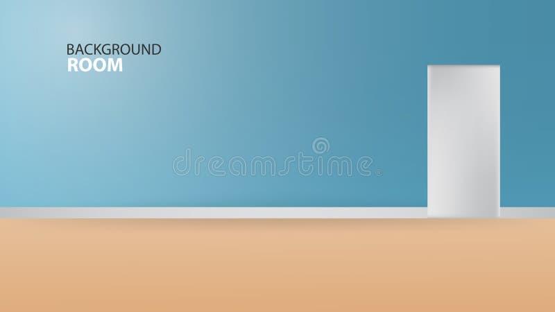 Fondo azul de sitio, plantilla vacía del vector, diseño de la bandera, cubierta, página web, anuncio, textura, libre illustration