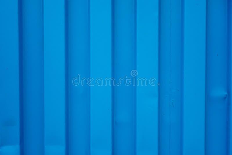 Fondo azul del envase del buque de carga, textura fotografía de archivo libre de regalías