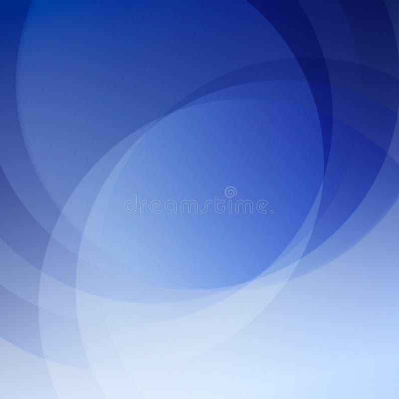 Fondo azul del extracto de la elegancia ilustración del vector