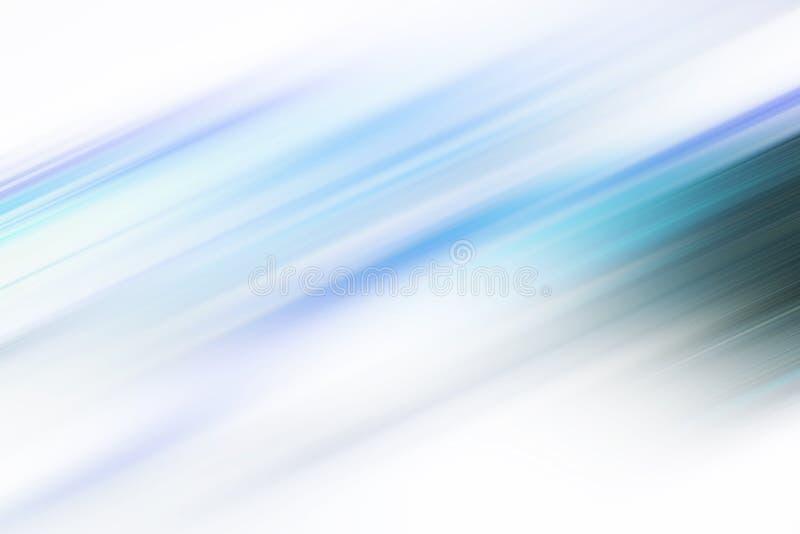 Fondo azul del extracto de la falta de definici?n de movimiento libre illustration