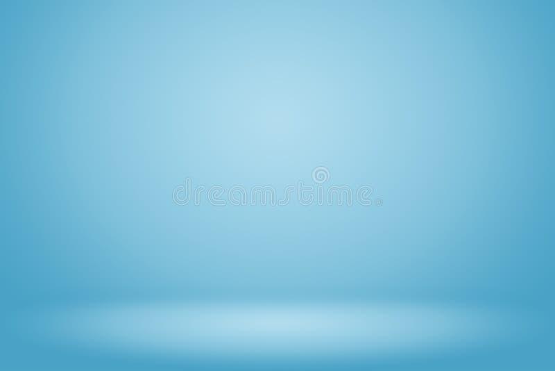 Fondo azul del extracto de la pendiente stock de ilustración