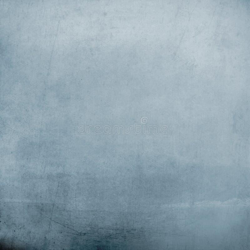 Fondo azul del Grunge foto de archivo