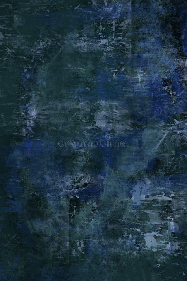 Fondo azul del grunge fotos de archivo libres de regalías
