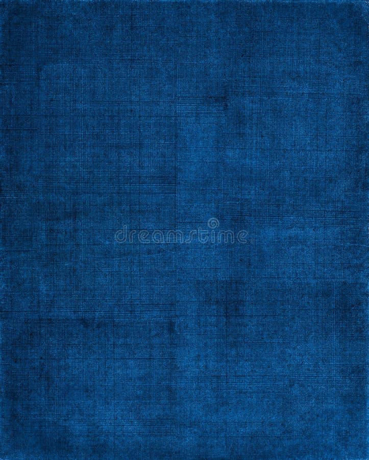 Fondo azul del paño ilustración del vector
