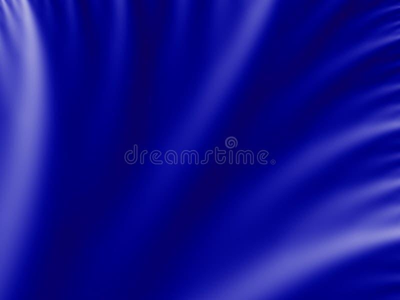 Fondo azul del terciopelo stock de ilustración