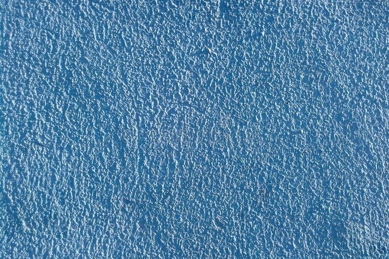 Fondo azul del yeso Alivio fuerte y áspero imagenes de archivo