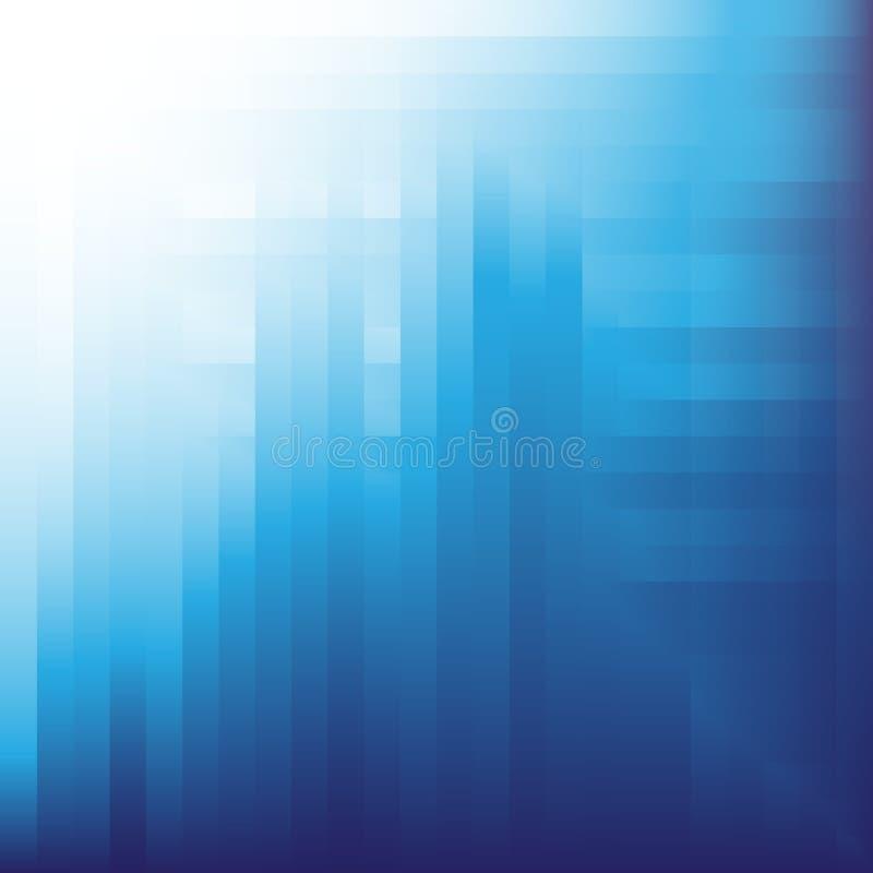 Fondo azul Digital del vector imagenes de archivo