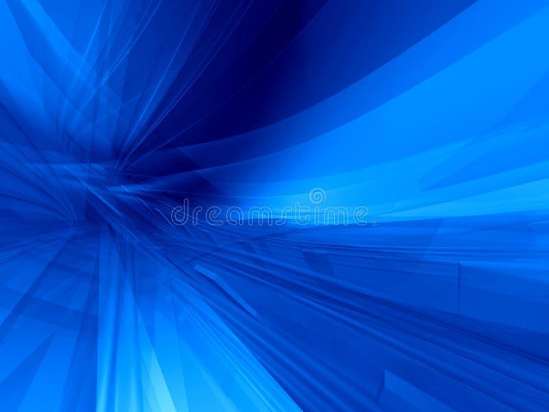 Fondo azul global stock de ilustración