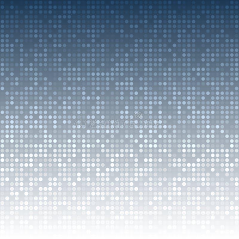 Fondo azul marino abstracto de la tecnología libre illustration
