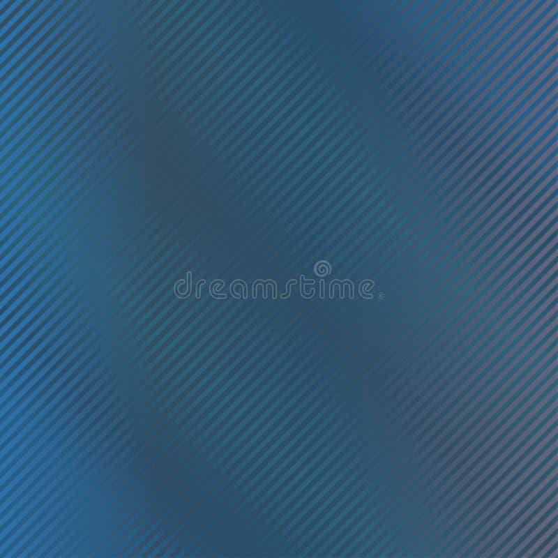 Fondo azul marino con la raya Ilustración del vector Modelo pelado Textura abstracta elegante moderna Plantilla para la impresión ilustración del vector