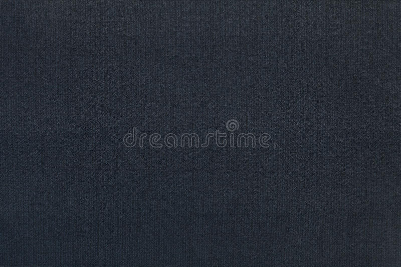 Fondo azul marino de un material de materia textil Tela con textura natural contexto fotos de archivo libres de regalías