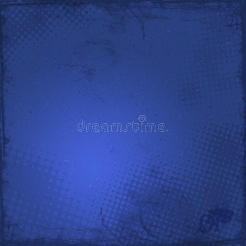 Fondo azul marino del grunge stock de ilustración