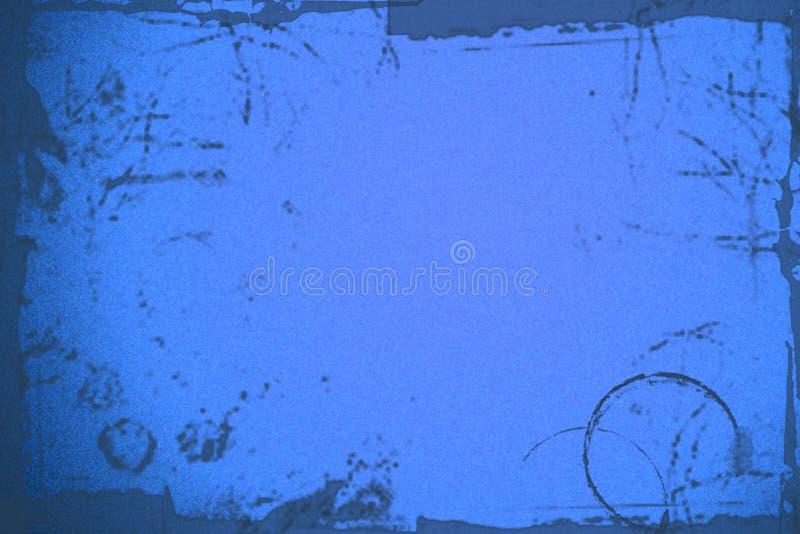 Fondo azul marino del grunge ilustración del vector