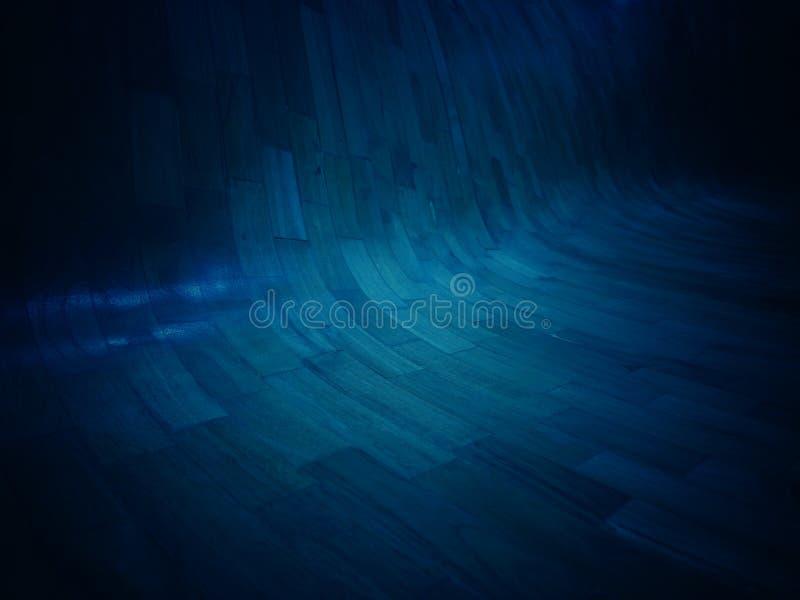 Fondo azul marino del tono con adorno y el extracto foto de archivo libre de regalías