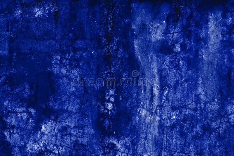 Fondo azul marino oscuro del grunge del extracto, pared texturizada imágenes de archivo libres de regalías