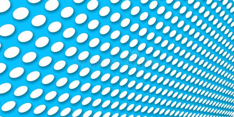 Fondo azul punteado foto de archivo
