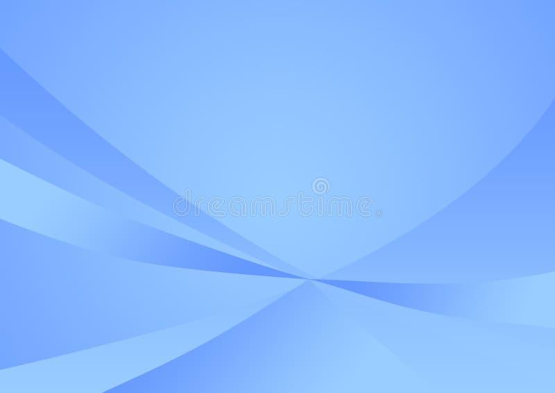 Fondo azul suave abstracto ilustración del vector