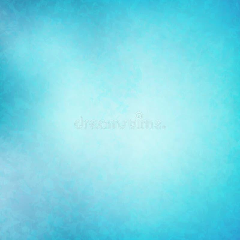 Fondo azul transparente abstracto Textura azul clara Vecto libre illustration