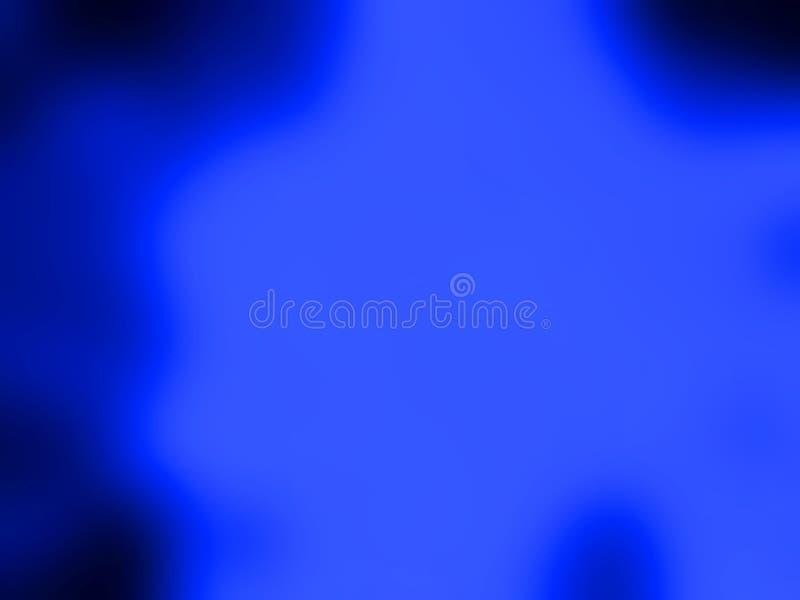 Fondo azul vibrante del papel pintado de la falta de definición stock de ilustración