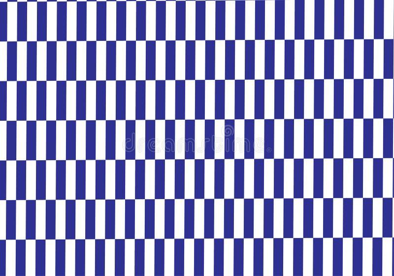Fondo azul y blanco del vector de la tela escocesa Ilustración del vector ilustración del vector