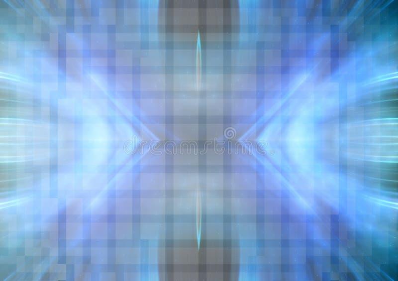 Fondo azulado abstracto ilustración del vector