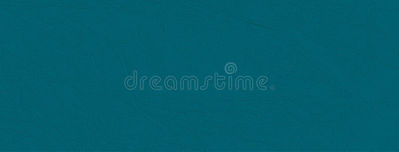 Fondo azulverde profundo de la textura, natural o de la imitación de cuero de la piel del vector, primer stock de ilustración