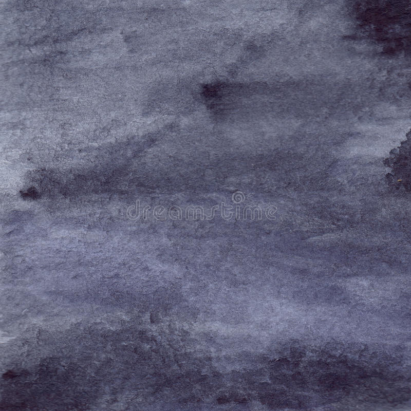 Fondo bagnato di struttura dell'asfalto della pioggia grigia grigia del nero di blu navy dell'acquerello royalty illustrazione gratis