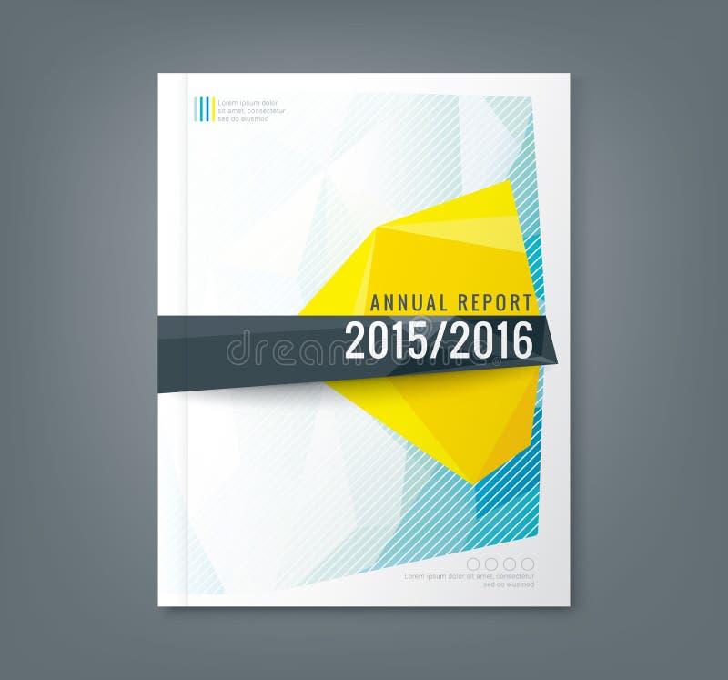 Fondo bajo abstracto de la forma poligonal para el negocio ilustración del vector