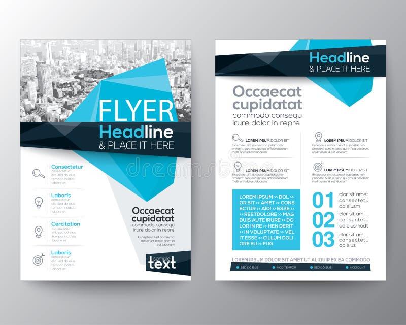 Fondo bajo abstracto del polígono para el diseño del aviador del folleto del cartel libre illustration