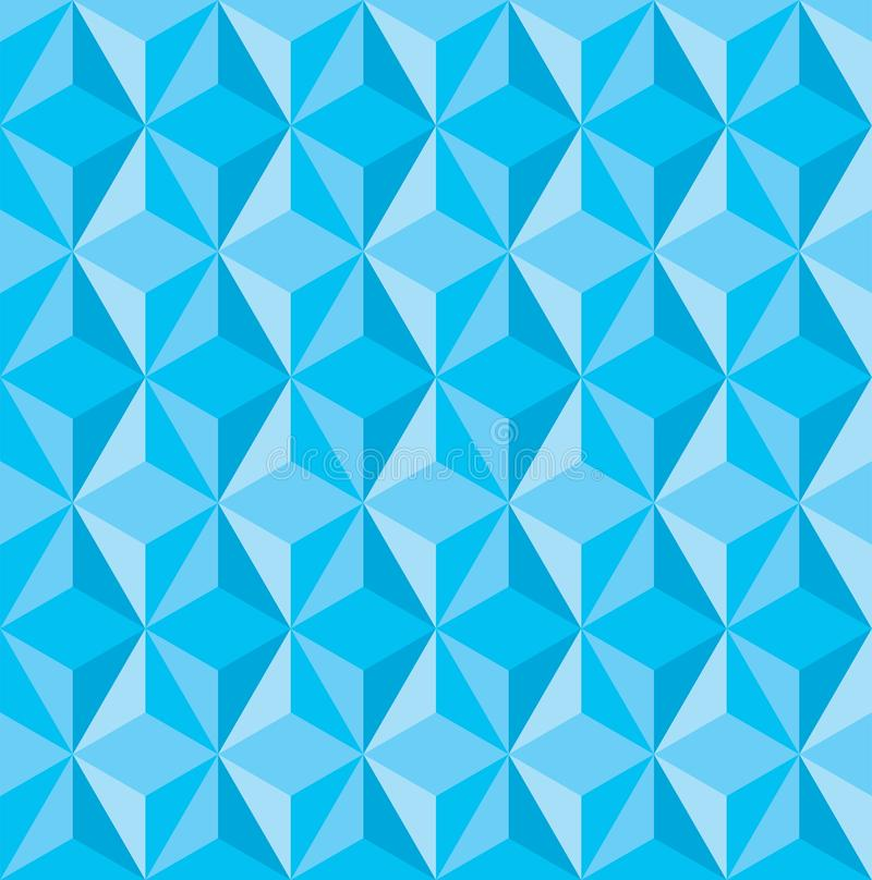 Fondo basso di struttura del triangolo dell'estratto poli illustrazione vettoriale