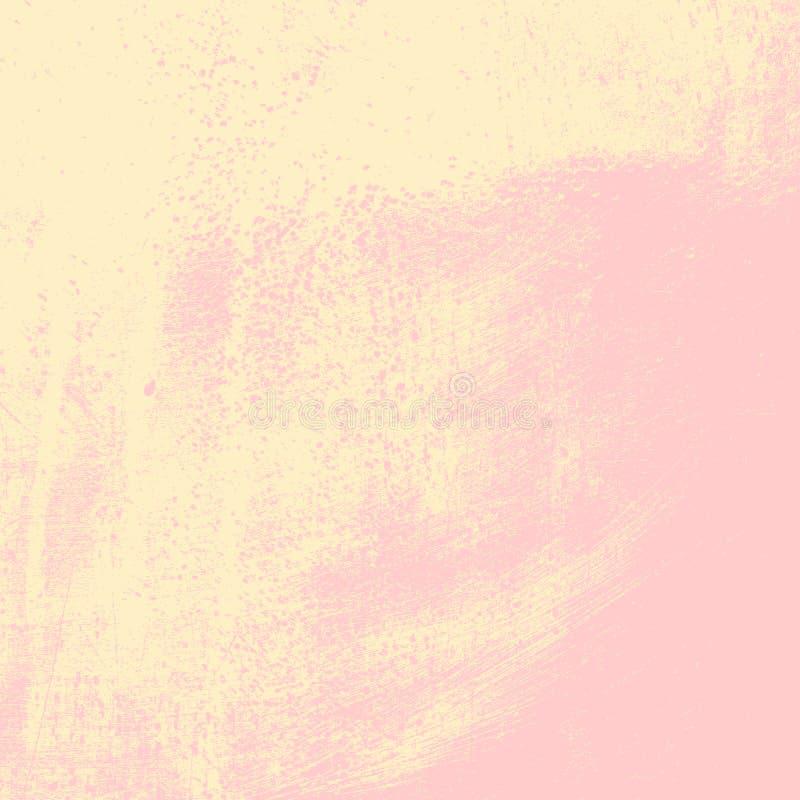 Fondo beige apenado ilustración del vector