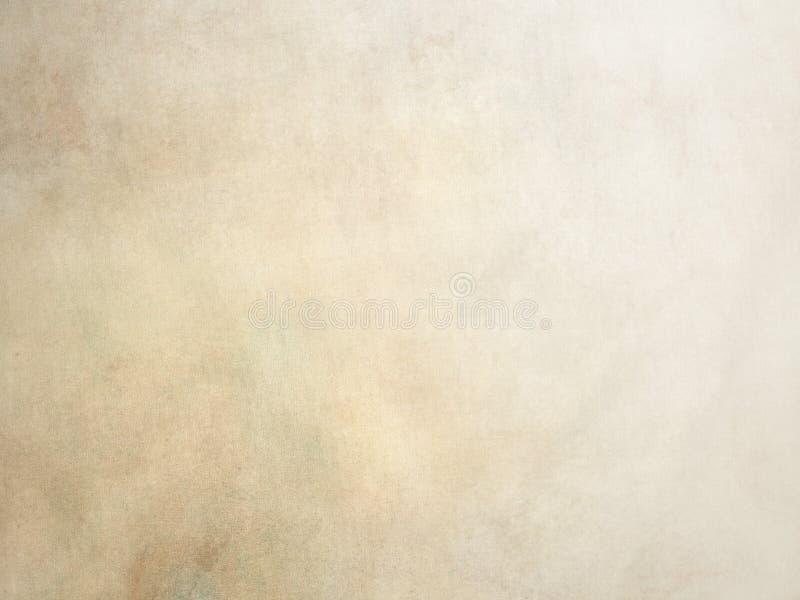 Fondo beige d'annata Painterly della tela fotografie stock libere da diritti