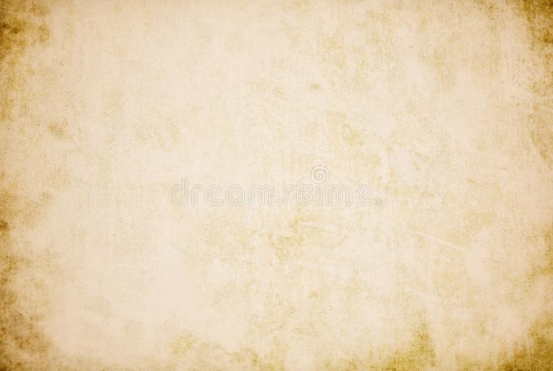 Fondo beige del vintage, vieja textura de papel, grunge, retro, vintage, espacio en blanco, puntos, marrón libre illustration
