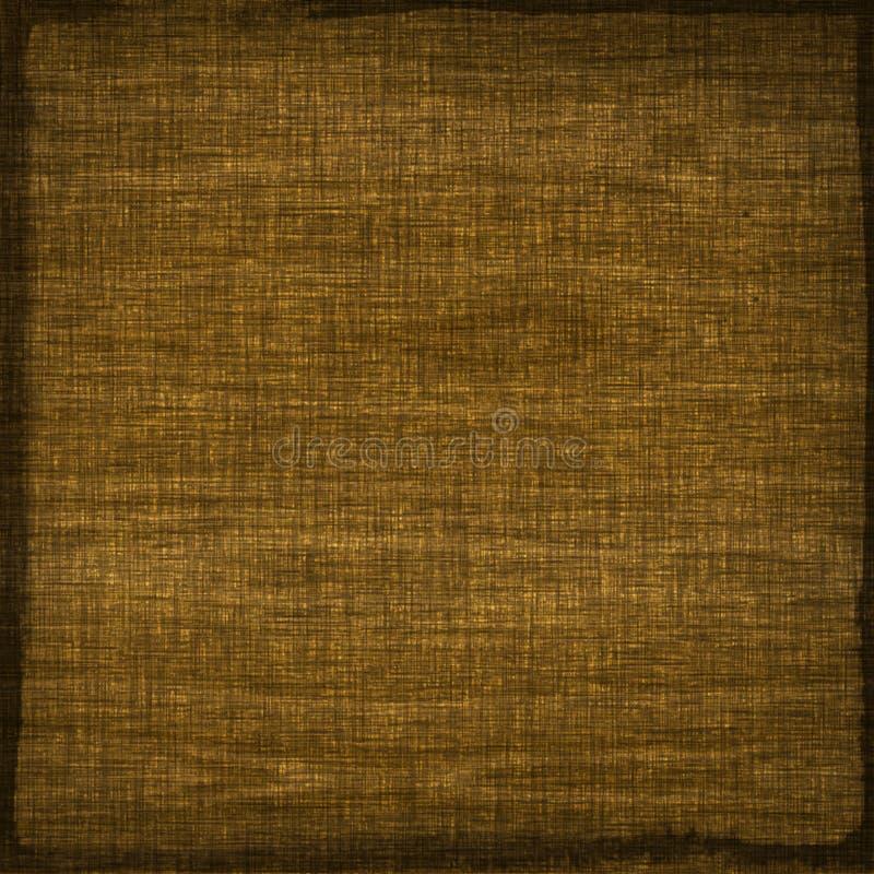 Fondo beige di struttura del tessuto della tela di sacco di marrone di tela del tessuto illustrazione vettoriale