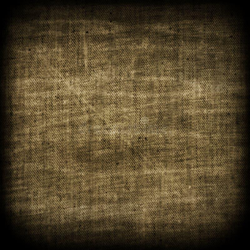 Fondo beige di struttura di marrone di tela del tessuto della tela da imballaggio della tela di sacco illustrazione vettoriale