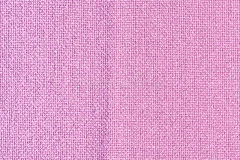 Fondo in bianco astratto per le disposizioni Fine rosa spessa del tessuto su immagini stock