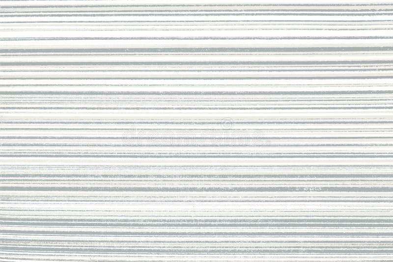 Fondo bianco con le bande orizzontali nere Carta da parati astratta di struttura del fondo Copi lo spazio royalty illustrazione gratis