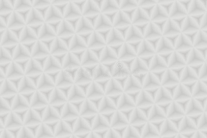 Fondo bianco 3D di struttura immagini stock