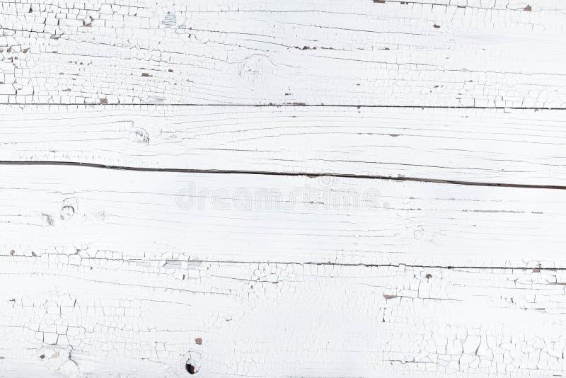 fondo bianco del bordo di legno immagini stock